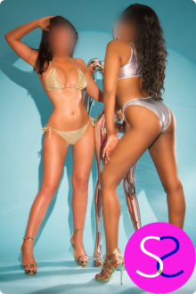 VIP Party Girl Escorts In Manchester Leah & Victoria Make A Perfect Escort Duo
